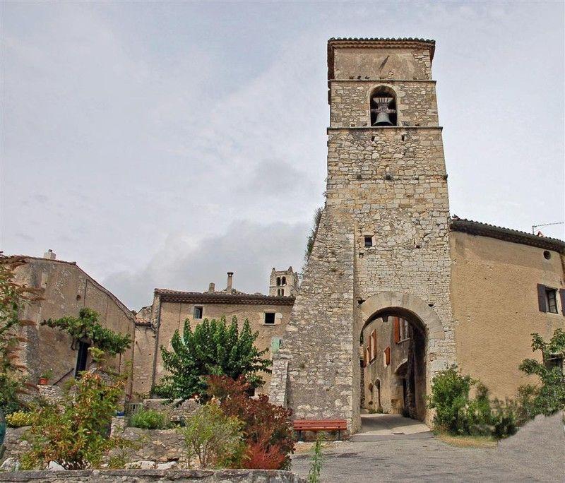 le joli village de Marsanne