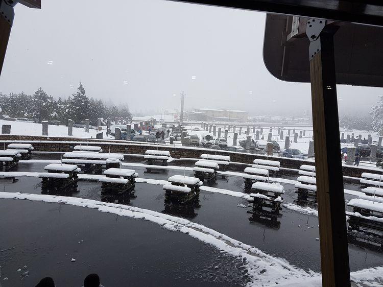 retour sous la neige...
