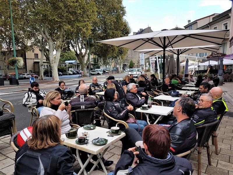un bon moment passé avant de séparer avec nos amis lyonnais avant de rentrer sur St Etienne.