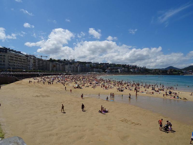 plage de San Sebastian