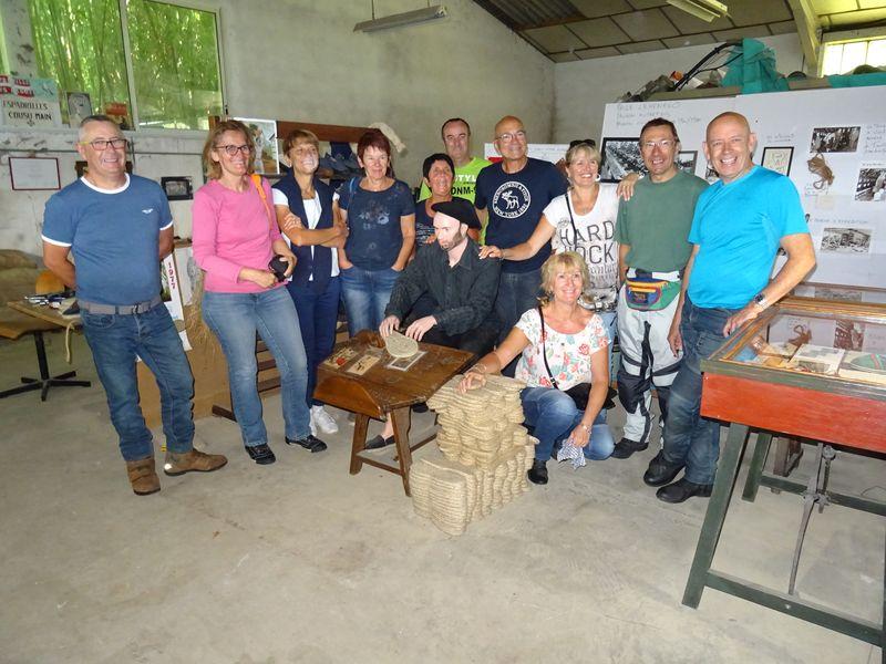 visite d'une fabrique d'espadrilles