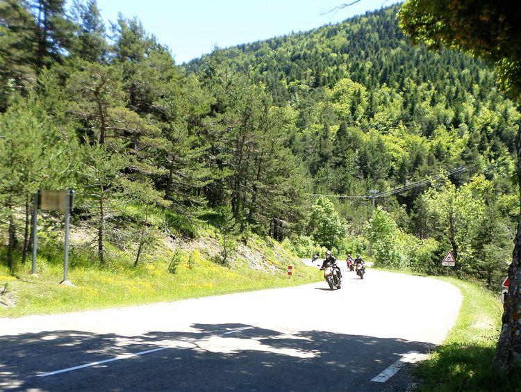 route du col de Cabre