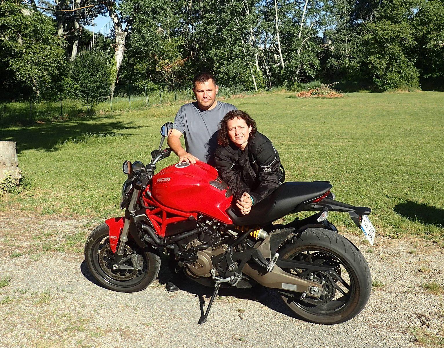 David et Sandrine