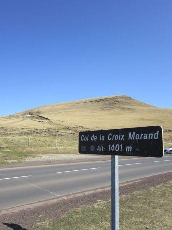 Le col de la Croix Morand
