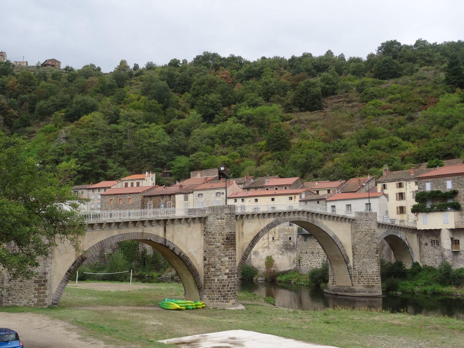Le pont de La-Voute-Chilhac