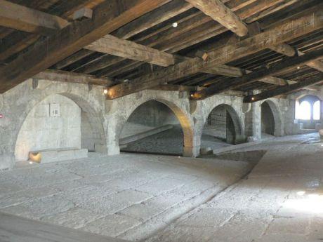 Une des salles intérieures de la tour