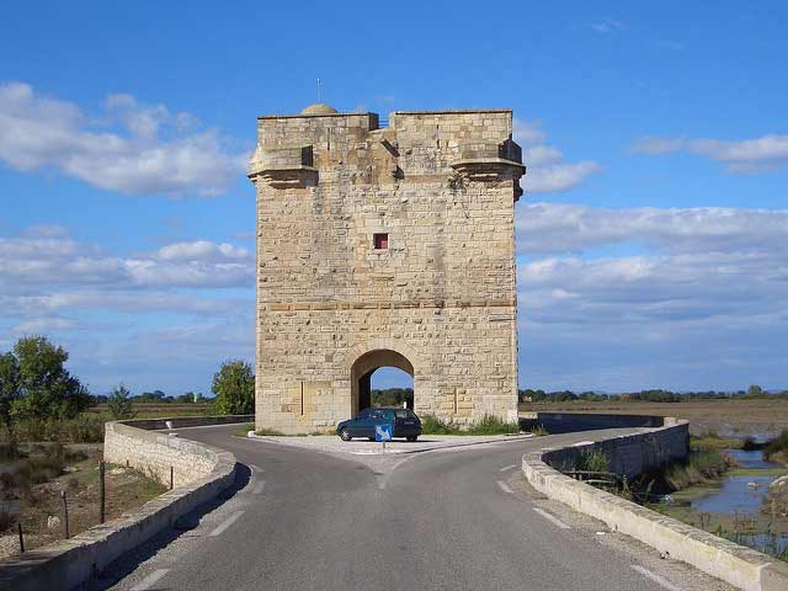 Tour la Carbonniere près d'Aigues-Mortes-