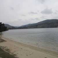 Le lac d'Issarles