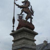 La bête du Gévaudan à Aumont Aubrac